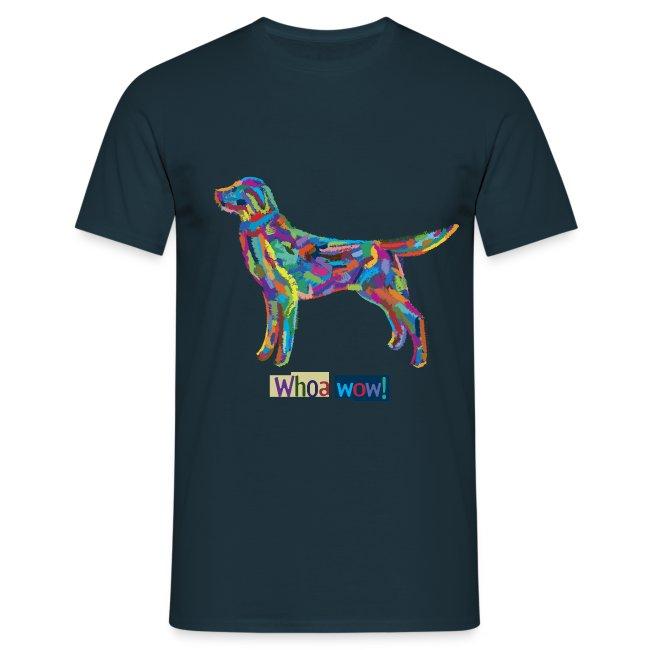Bunter Hund - Männer-T-Shirt