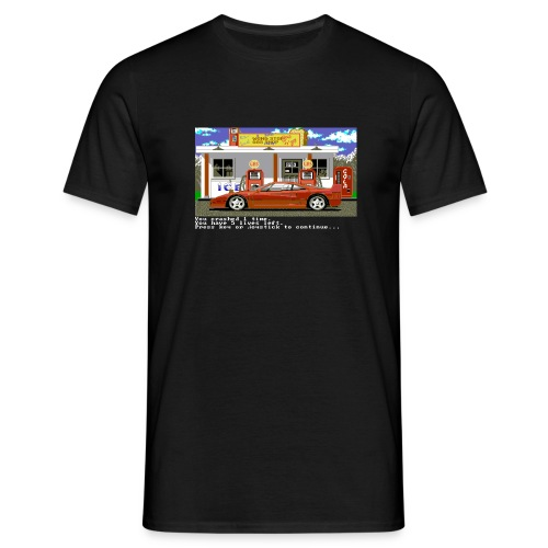 TEST DRIVE / Crash / C64 - 19871109056 - Männer T-Shirt