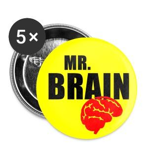 Mr. Brain - Buttons medium 32 mm