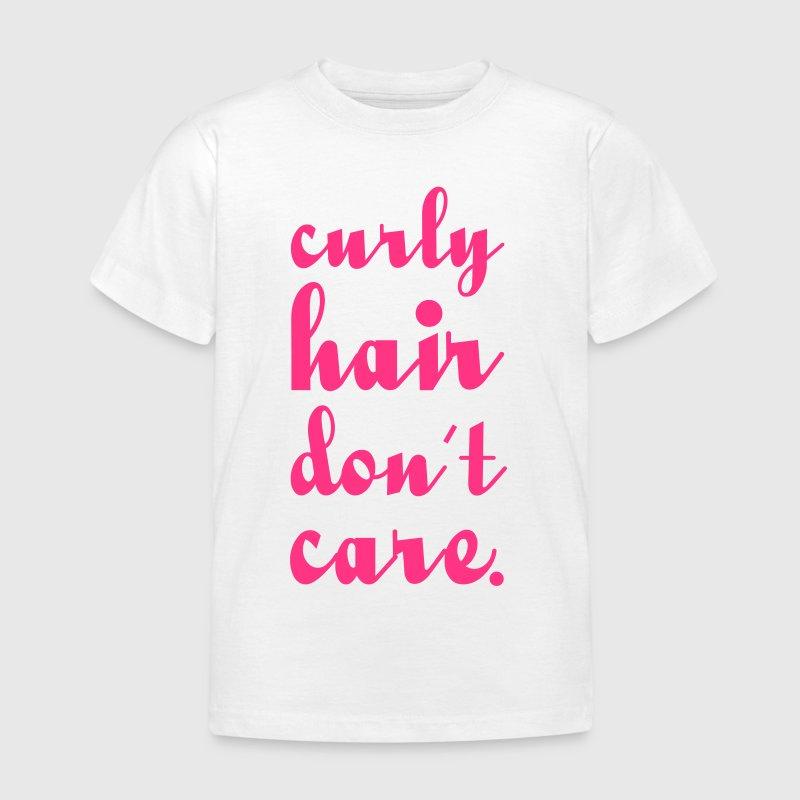 Curly hair t shirt spreadshirt for Hair salon t shirt designs