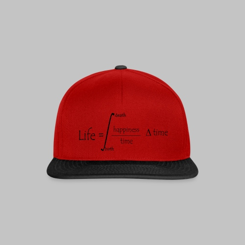 Casquette Life Equation - Snapback Cap