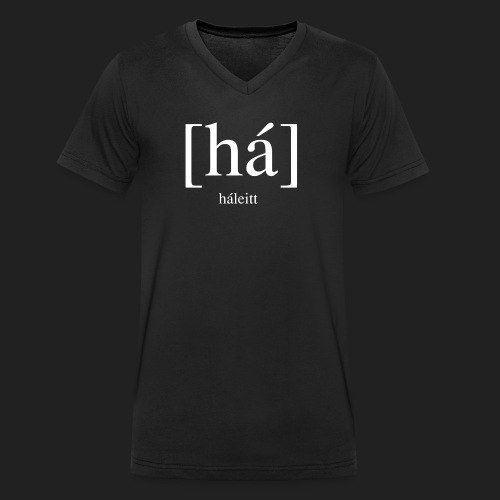 [háleitt]-shirt v-neck - Men's Organic V-Neck T-Shirt by Stanley & Stella