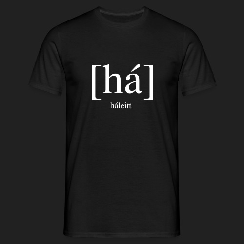 [háleitt]-shirt - Men's T-Shirt