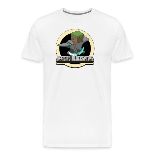 Official Blocksmith Adults T-Shirt - Men's Premium T-Shirt