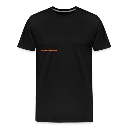 support cameron banner men  - Men's Premium T-Shirt