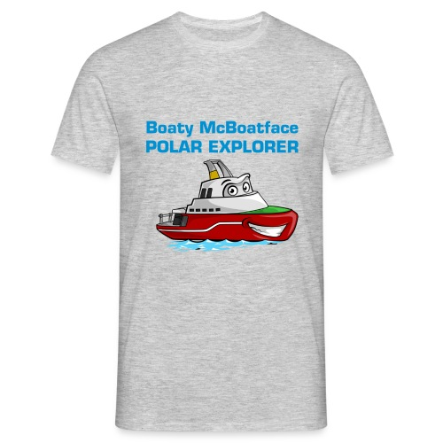 Boaty McBoatface - Polar Explorer t-shirt - Men's T-Shirt