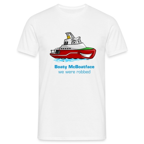 Boaty McBoatface - We were robbed - Men's T-Shirt