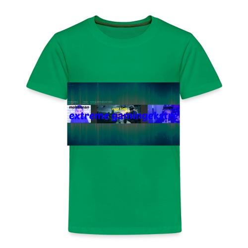 extreme gaming banner T-shirt - Børne premium T-shirt