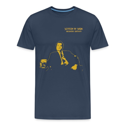 Scotch N Soda Guy - Men's Premium T-Shirt