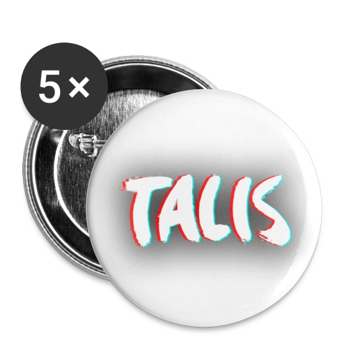 Talis Badges - Buttons medium 1.26/32 mm (5-pack)