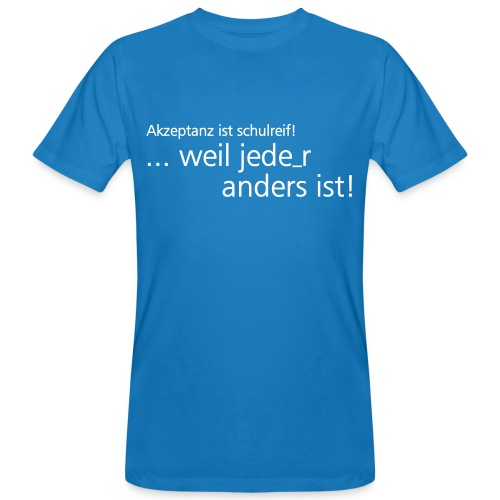 Schwule Lehrer Hamburg - Männer Bio-T-Shirt