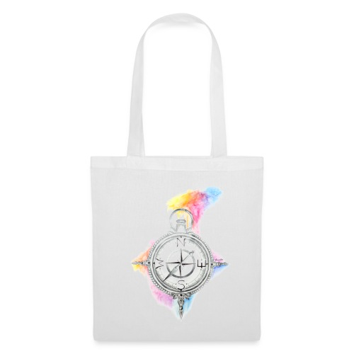 Kompass Jutebeutel - Stoffbeutel