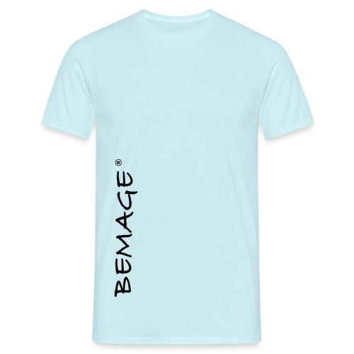 BEMAGE Männer T-Shirt THREE - Männer T-Shirt