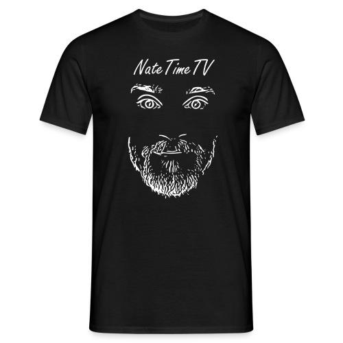 NateTimeTV white face Men's top - Men's T-Shirt