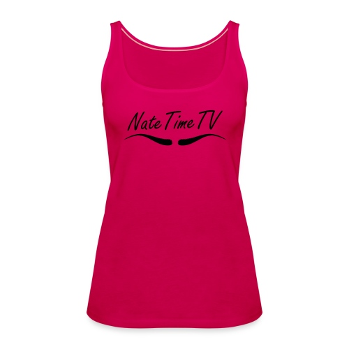 NateTimeTV Womens tank top - Women's Premium Tank Top