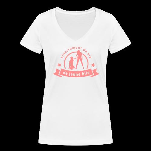 AAAAAAAAAAAAAAA - T-shirt bio col V Stanley & Stella Femme