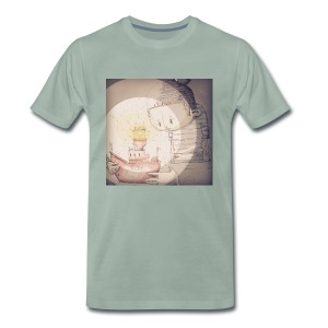 LV21 by SQUIRL-ART Mens T  - Men's Premium T-Shirt