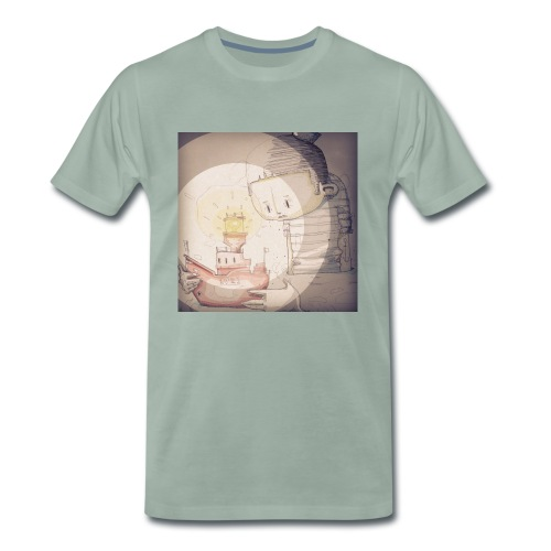 LV21 by SQUIRL-ART Mens T  - Men's Premium T-Shirt