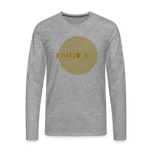 DISC Gold - metallic - Männer Premium Langarmshirt