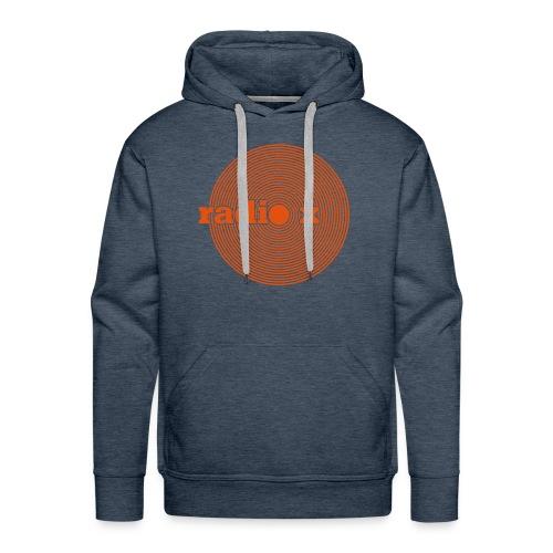 DISC orange - samtig - Kapuzenpulli - Männer Premium Hoodie