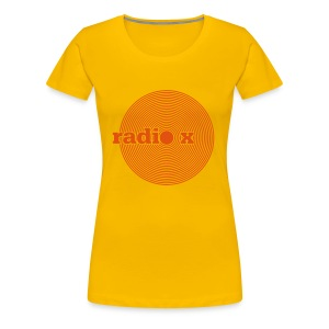DISC orange - Frauen Premium T-Shirt