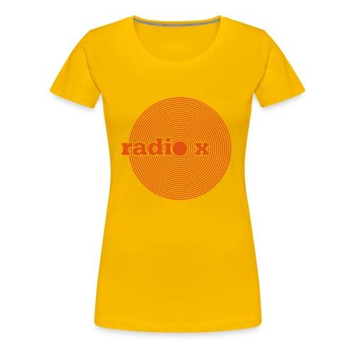 DISC orange - Frauen Premium T-Shirt