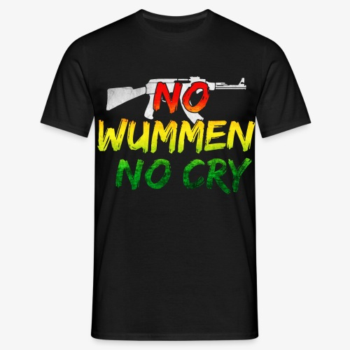 No Woman No Cry - Männer T-Shirt