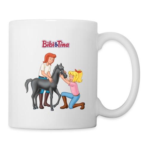 Bibi und Tina 'Schmuseeinheit mit Fohlen Felix' - Tasse