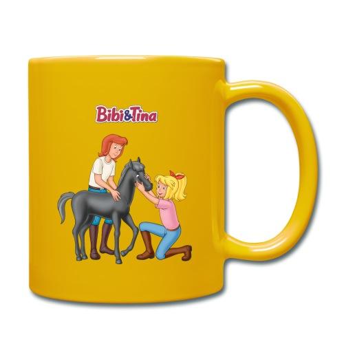 Bibi und Tina 'Schmuseeinheit mit Fohlen Felix' - Tasse einfarbig