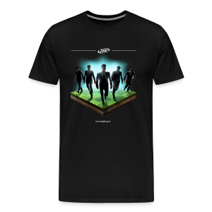Men's Entourage Achievement T-Shirt - Black - Men's Premium T-Shirt