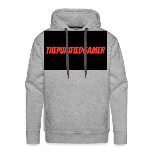 ThePurifiedGamer mens grey hoodie - Men's Premium Hoodie