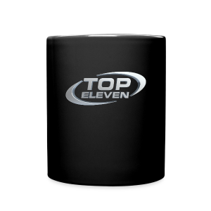 3D Logo Mug - Black - Full Colour Mug