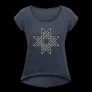 T-Shirts ~ Frauen T-Shirt mit gerollten Ärmeln ~ Octogram