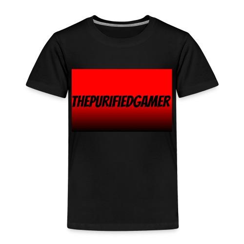 TTshirthePurifiedGamer kids black and red tshirt - Kids' Premium T-Shirt
