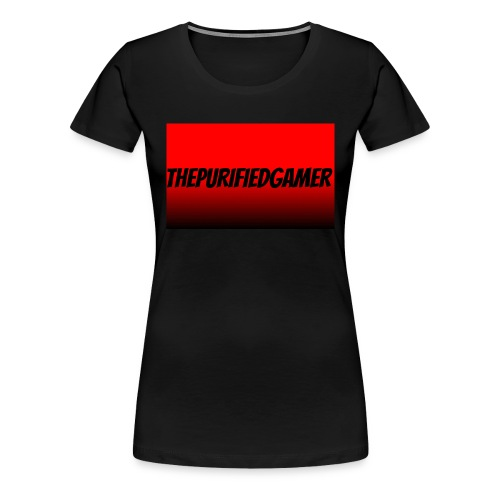 ThePurifiedGamer womens Tshirt - Women's Premium T-Shirt