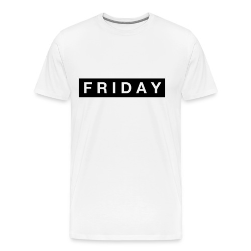 Friday - Premium-T-shirt herr