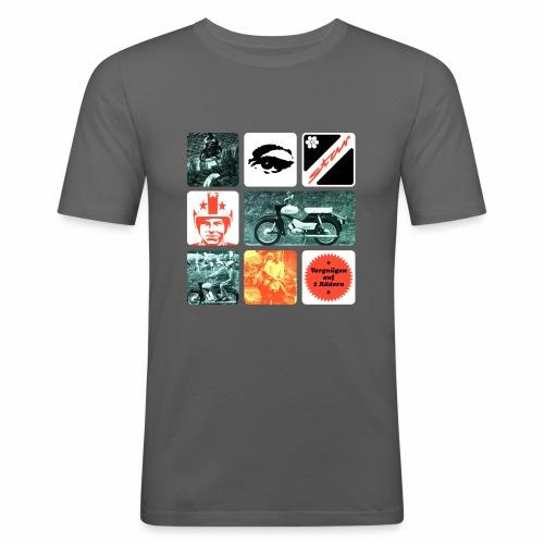 Moped Star - Men's Slim Fit T-Shirt