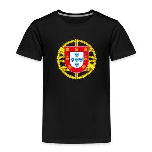 Portugal Brasão T-Shirts - Kinder Premium T-Shirt