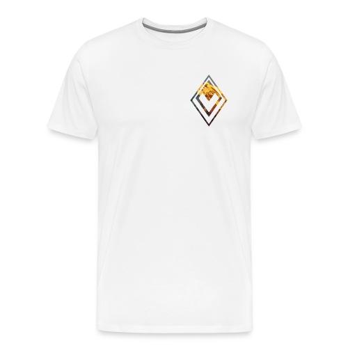 Mountain Logo And Text Front/Back Man - Maglietta Premium da uomo