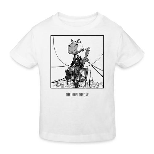 The Irone Throne Kids Bio Tee - Kids' Organic T-Shirt