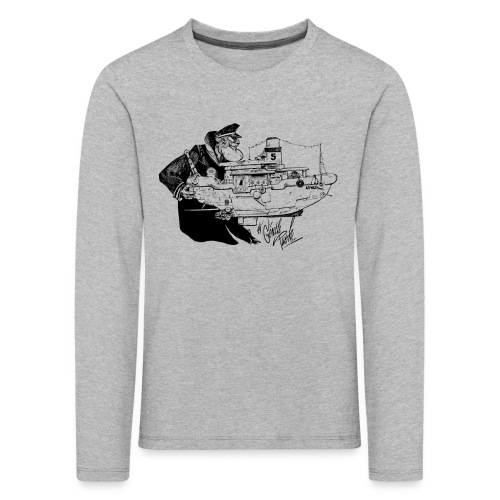 A Captain's Gentle Kids Longsleeve - Kids' Premium Longsleeve Shirt