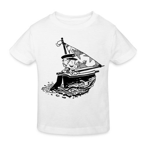 A Captain's Boy Kids Bio Tee - Kids' Organic T-Shirt