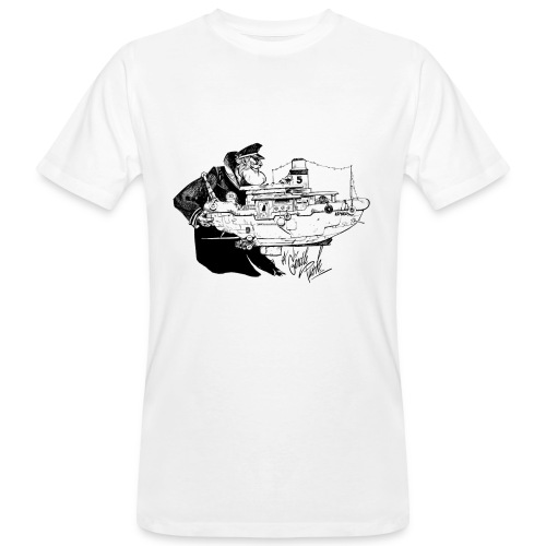 A Captain's Gentle Push Men Bio Tee - Men's Organic T-Shirt