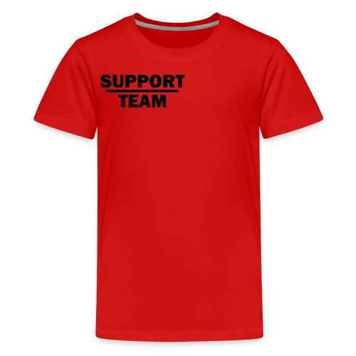 Support T-shirt - Teenage Premium T-Shirt