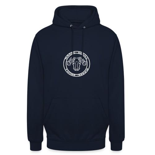 RamSkull Apparell Black hoodie with large logo - Unisex Hoodie