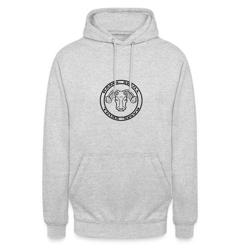 RamSkull Apparell Grey pullover hoodie - Unisex Hoodie