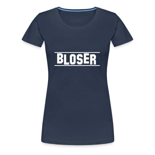 Bloser T- Shirt  White 2 für Frauen - Frauen Premium T-Shirt