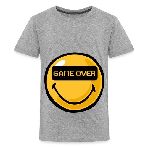 Smiley-T-Shirt-GrottenTV - Teenager Premium T-Shirt