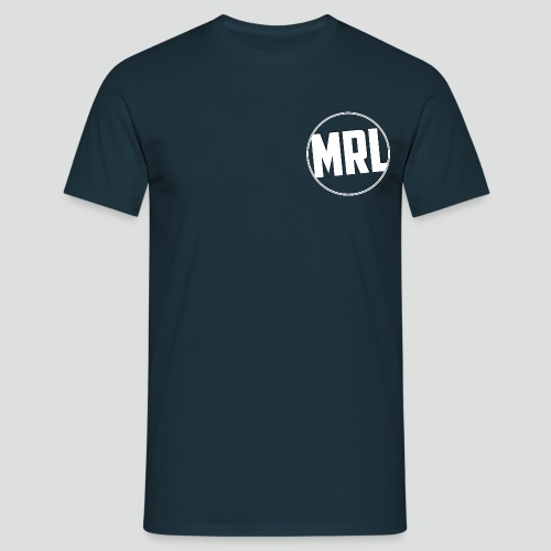 Mrlomopss T-shirt Mannen Klein Logo Wit - Mannen T-shirt