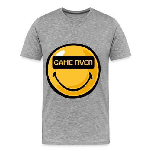 Game Over-T-Shirt-GrottenTV - Männer Premium T-Shirt